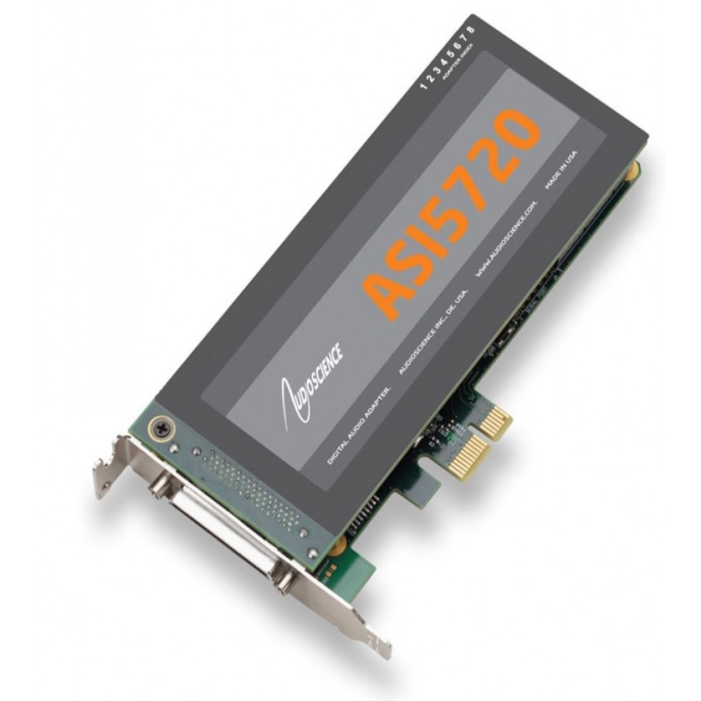 AudioScience ASI 5720 Low Profile PCI-Express Soun...