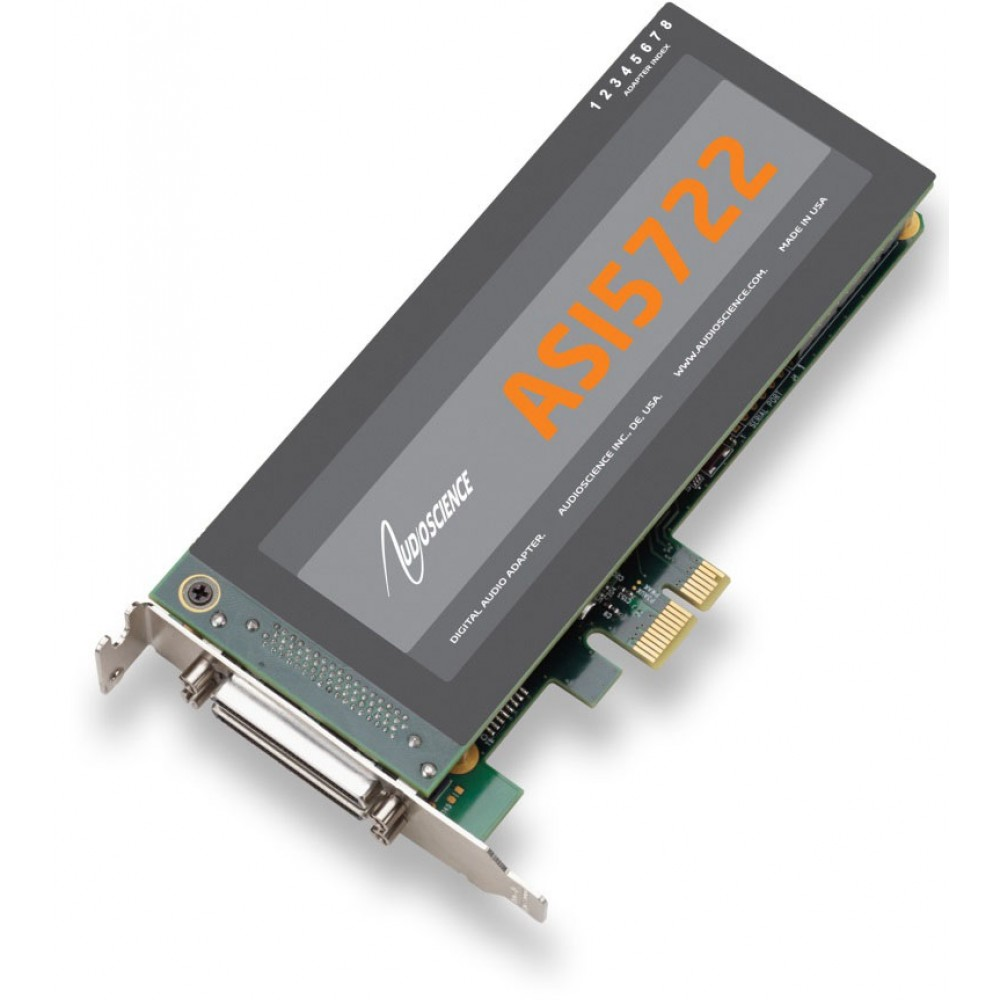 AudioScience ASI 5722  Low Profile PCI-Express Sou...