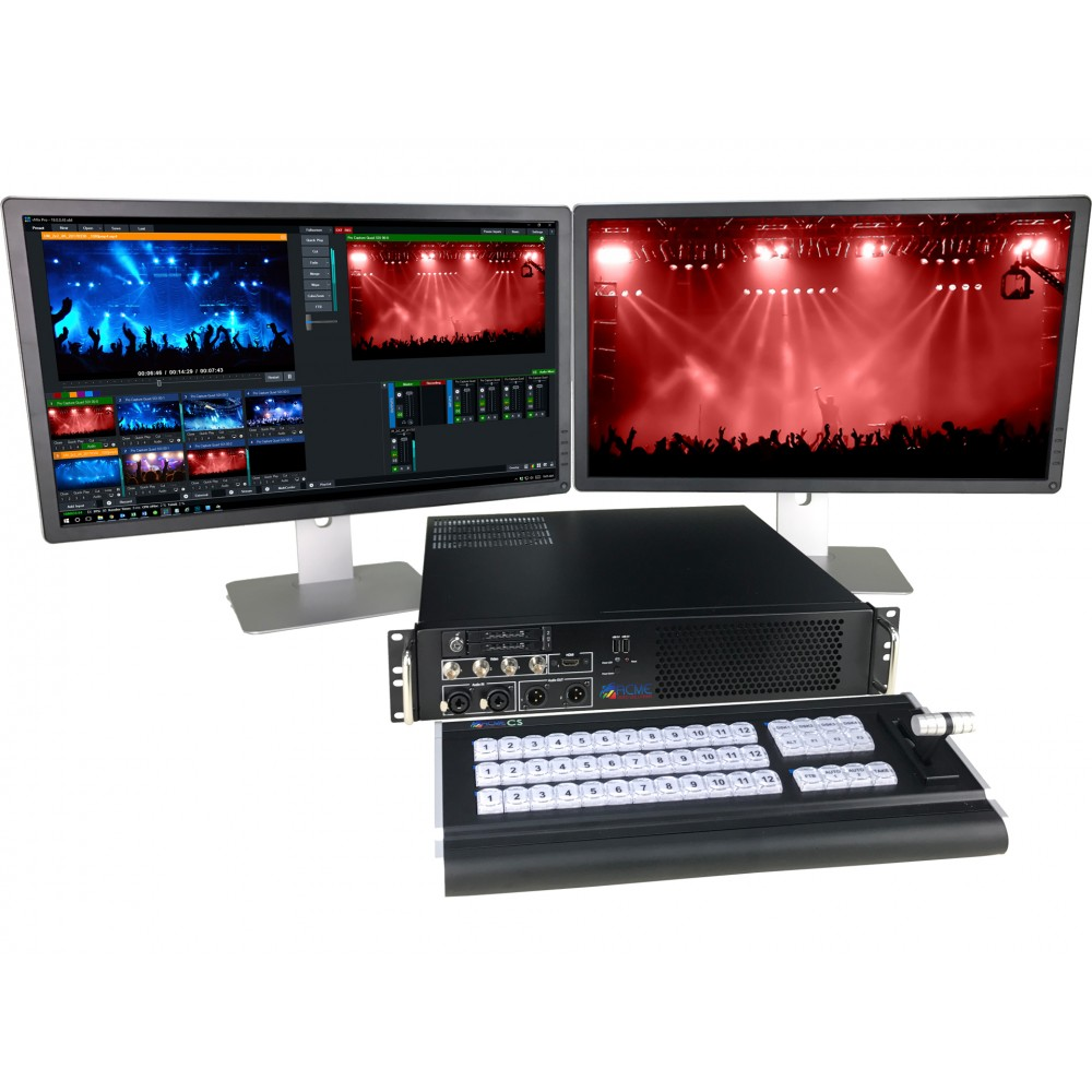 ACME RACK 4/4K - Rackmount Production Video Switch...