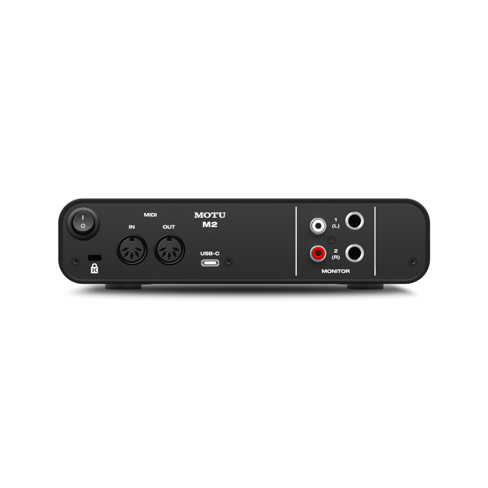 MOTU M2 2-in/2-out USB-C  audio interface