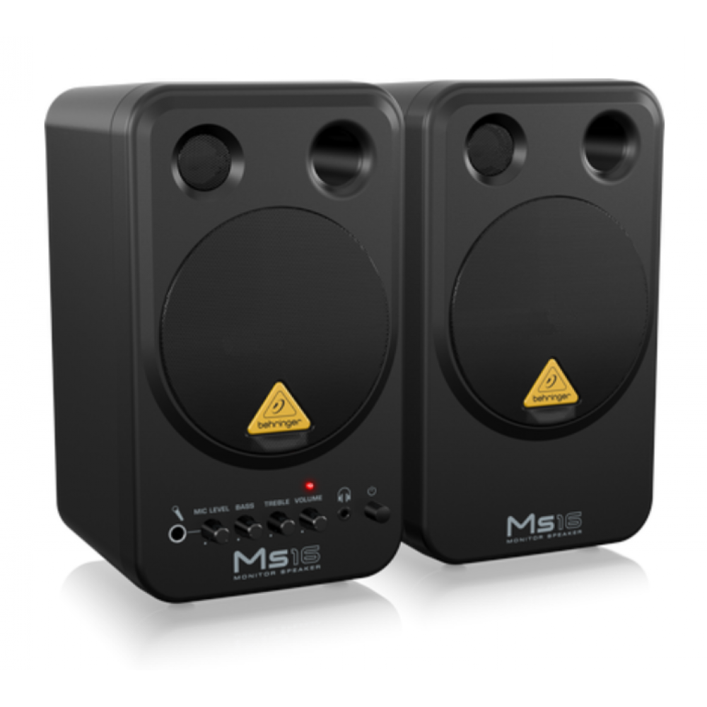Behringer MS16 Monitor System (Pair)