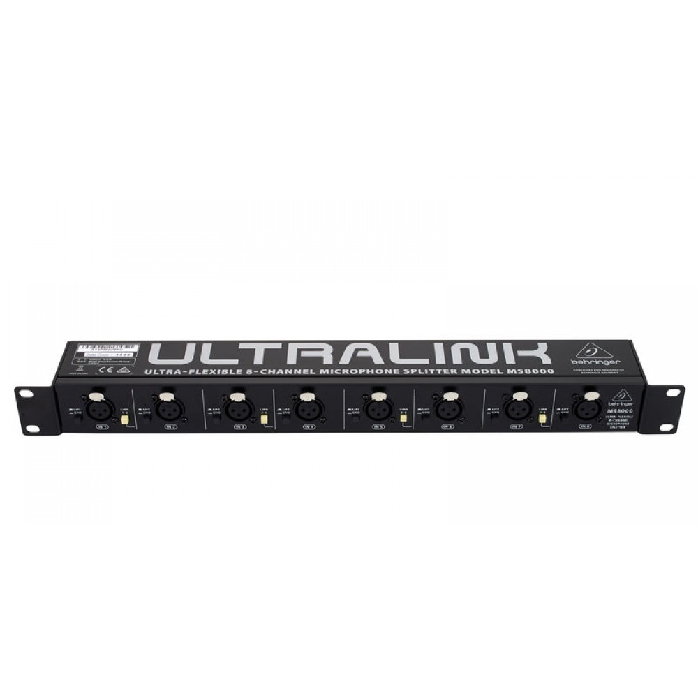 Behringer Ultralink MS8000 Eight-channel Microphon...