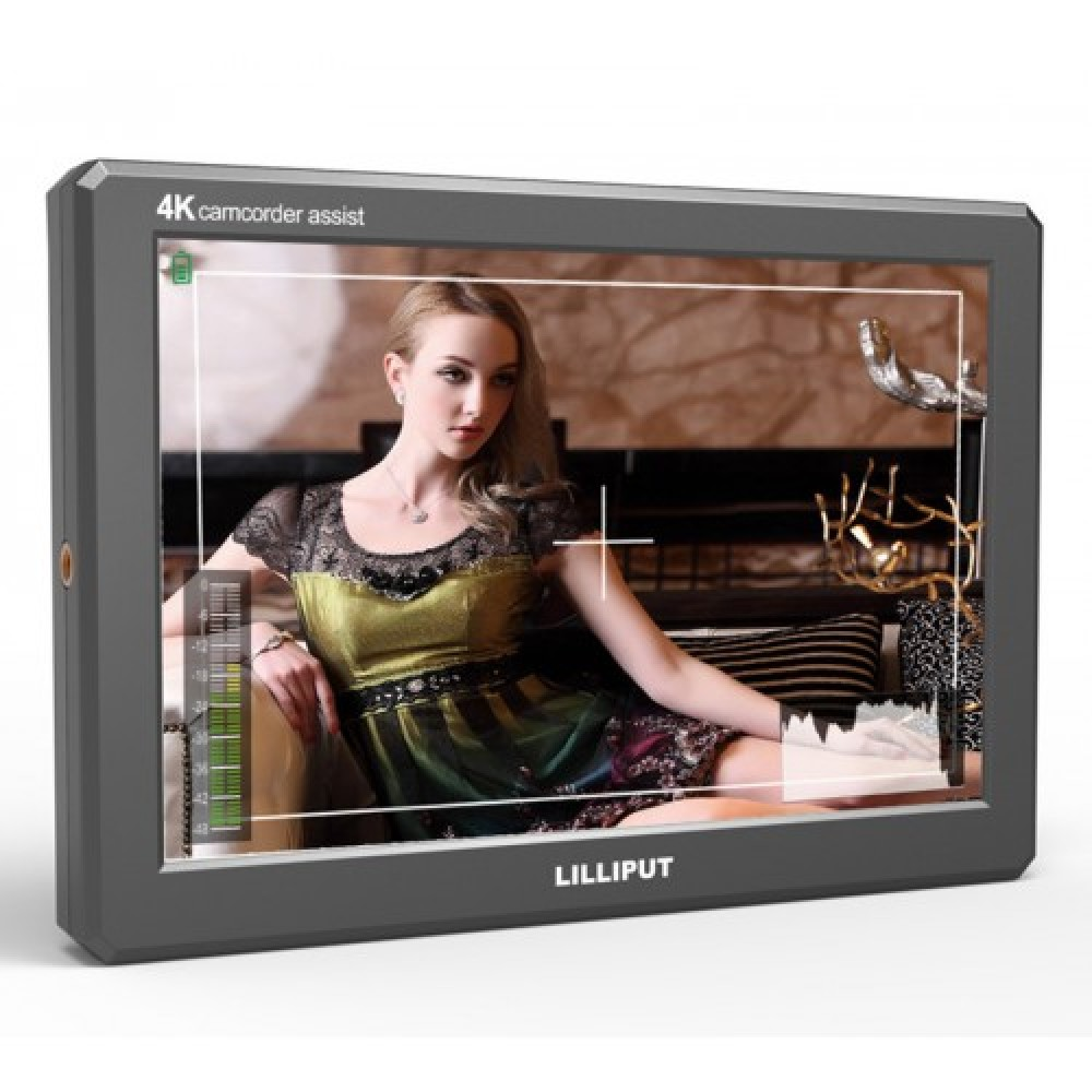 Lilliput A8S 4K/HD PortableCamera Top Monitor