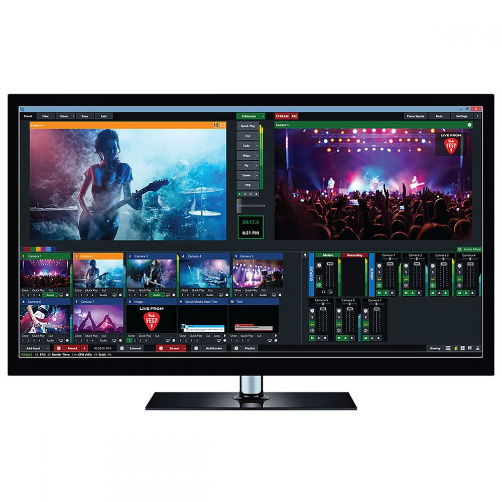 vMix 4K-  Video Production Software